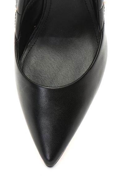 Guess Pantofi de piele, cu toc stiletto si nituri Femei