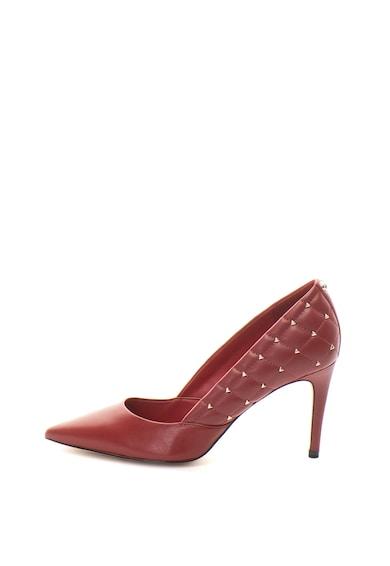 Guess Pantofi stiletto de piele, cu nituri Femei
