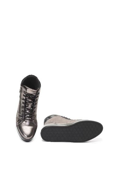 Guess Magas szárú plimsolls cipő fémes hatással női