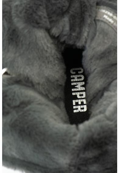 Camper Cizme scurte de piele intoarsa, cu captuseala de blana sintetica Peu Pista Femei