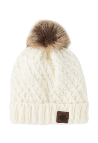 ROXY Сноуборд шапка Blizzard с помпон Жени