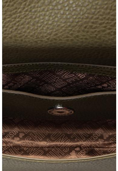 Love Moschino Geanta de umar de piele ecologica cu bareta din lant Femei