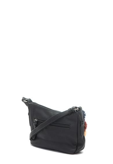 Mei ökobőr keresztpántos táska - Tamaris (2757182-001) ce8ee0d106