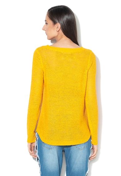 Only Пуловер Geena с рипсени краища Жени
