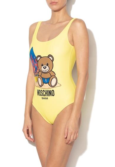 Egyrészes fürdőruha grafikai mintával - Moschino (A6137-5955-24) ebf6a6e2fb