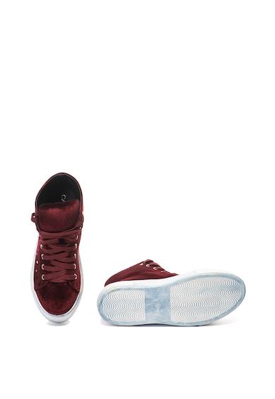 Oakoui Pantofi sport inalti de catifea Eva Femei
