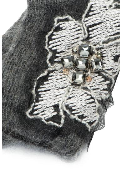 Max Mara Hosiery Чорапи Jerez от мохер с апликация Жени