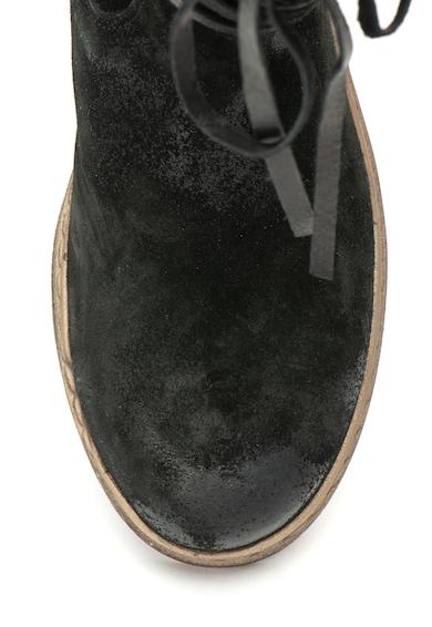 Zee Lane Tula flatform magas szárú nyersbőr csizma női