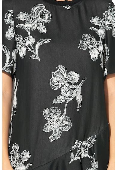 Sportmax Code Rochie cu imprimeu floral si terminatie evazata Clivia Femei