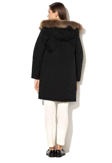 Max&Co Decano bélelt dzseki mosómedveszőrmés szegéllyel női