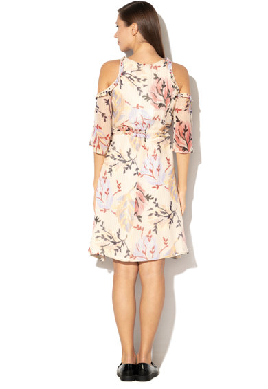 Max&Co Palladio bővülő fazonú virág mintás selyemruha női
