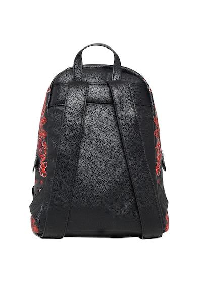 Műbőr hátizsák virágos hímzésekkel - DESIGUAL (18WAXPA0-2000) 617bd3fa60