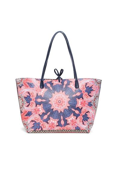 DESIGUAL Mintás shopper táska női