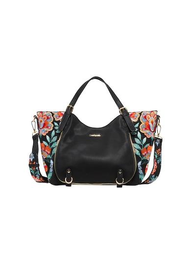 DESIGUAL Хобо чанта Odissey от еко кожа и бродерия Жени