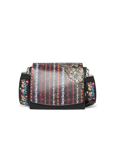 DESIGUAL Чанта от еко кожа с разнороден десен Жени