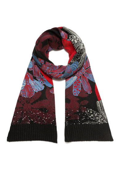 DESIGUAL Fular tricotat Femei