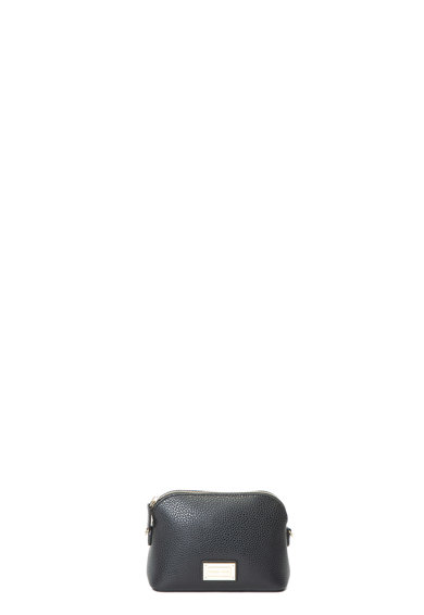 Emporio Armani Műbőr keresztpántos táska logós rátéttel női