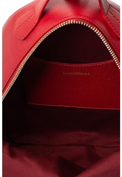 Emporio Armani Műbőr hátizsák logós rátéttel női