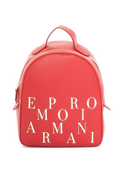 Emporio Armani Раница от еко кожа, с лого Жени