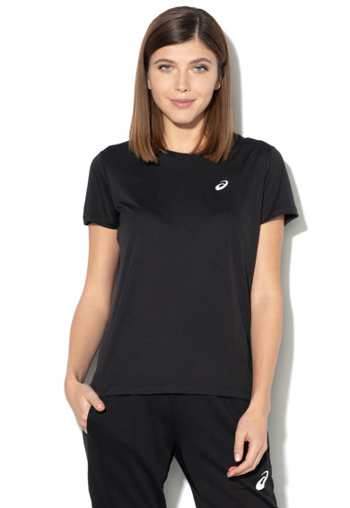 Asics Тениска с асиметричен подгъв, за бягане Жени