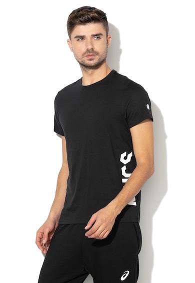 Asics Тениска за фитнес, с текстова щампа Мъже