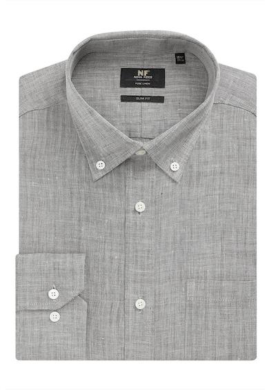 NEXT Ленена риза по тялото Мъже