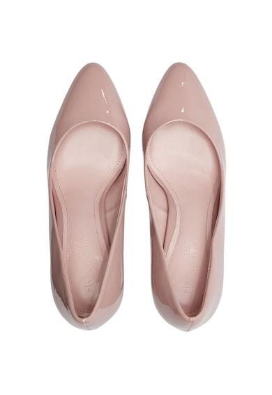 NEXT Pantofi cu varf migdalat si aspect lacuit Femei