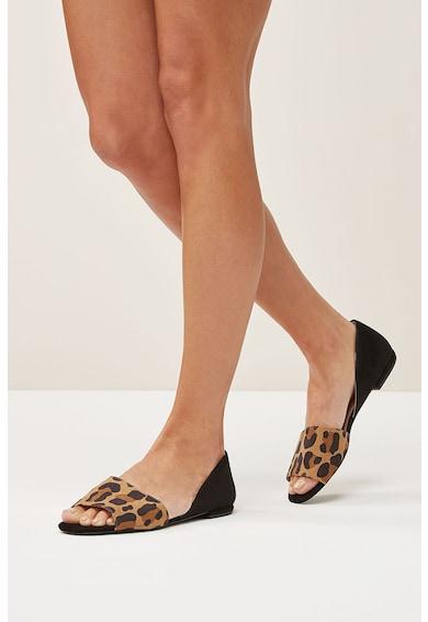 NEXT Sandale d'Orsay cu model animal print Femei