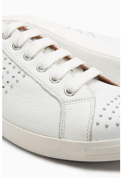 NEXT Szegecses bőr sneakers cipő női