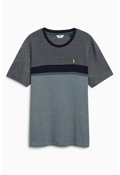 NEXT Regular Fit póló colorbklock dizájnnal férfi
