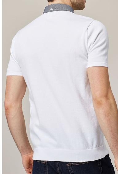 NEXT Galléros póló legombolható gallérral férfi
