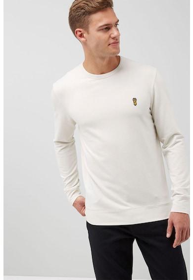 NEXT Regular Fit pulóver hímzett részlettel férfi