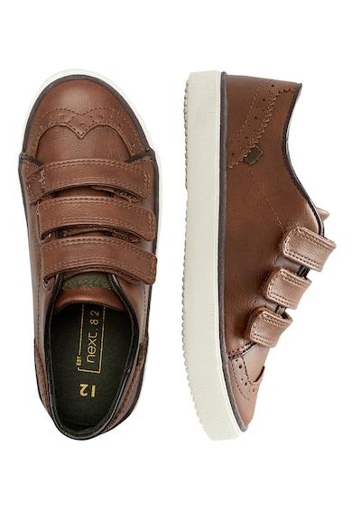 NEXT Pantofi sport de piele sintetica cu garnituri de piele Baieti