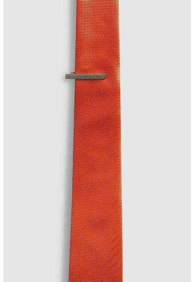 NEXT Комплект релефна вратовръзка и игла Мъже