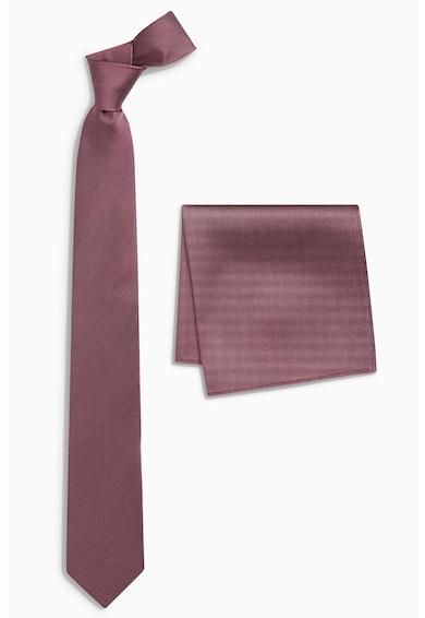 NEXT Копринена вратовръзка и кърпичка Мъже