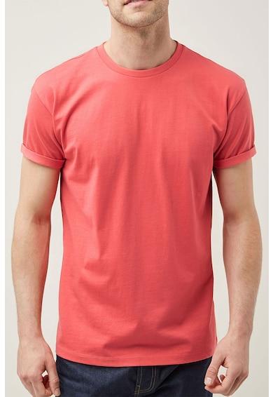 NEXT Relaxed Fit póló visszahajtott szegélyekkel férfi
