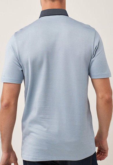 NEXT Regular fit galléros póló férfi