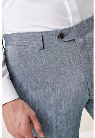 NEXT Панталон с лен и вталена кройка Мъже