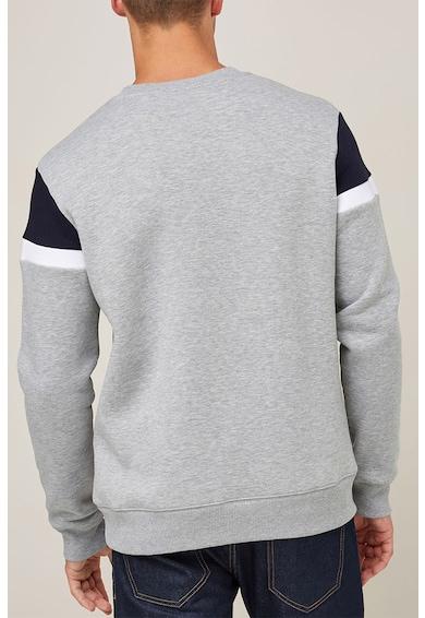 NEXT Regular fit pulóver colorblock dizájnnal férfi