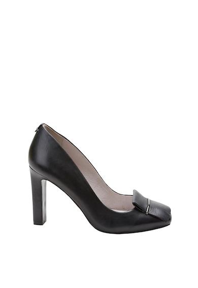 NEXT Pantofi de piele cu varf patrat Femei