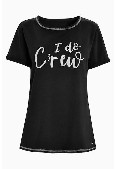 NEXT Тениска с текстова шарка15 Жени