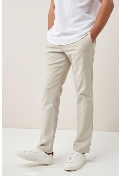 NEXT Панталон с лен по тялото Мъже