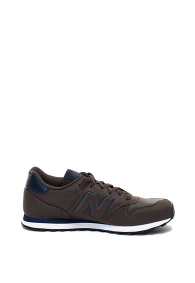 New Balance 500 műbőr és hálós anyagú sneakers cipő férfi