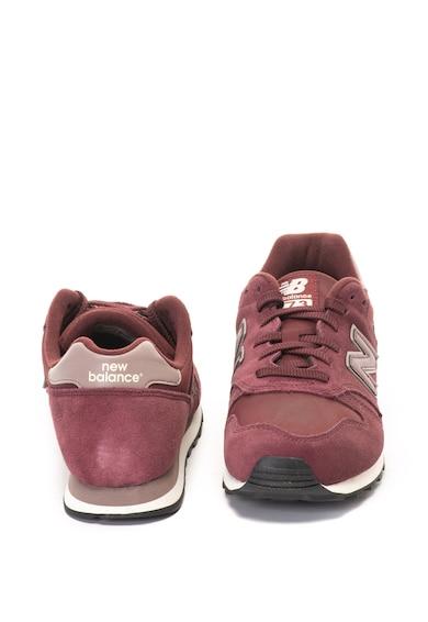 New Balance Pantofi sport de piele nabuc si piele intoarsa ecologica 373 Barbati