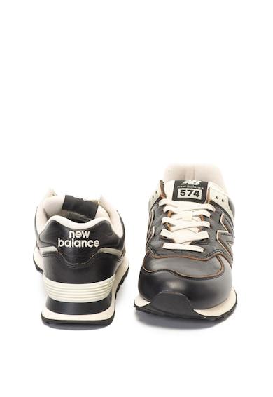 New Balance Pantofi sport de piele 574 Barbati