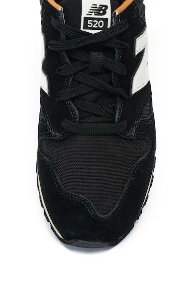 New Balance Pantofi sport de piele intoarsa si material textil 520 Barbati