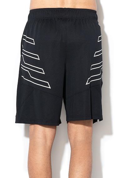 Under Armour Laza fazonú kosárlabda rövidnadrág mintás részletekkel férfi