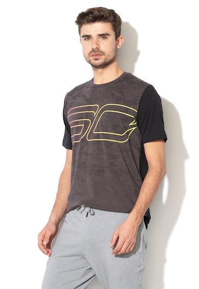 Under Armour Тениска със свободна кройка, за баскетбол Мъже