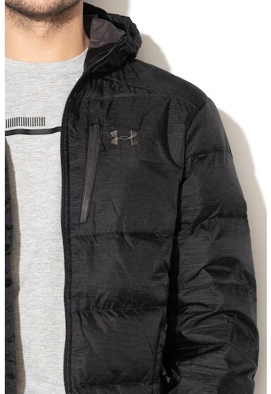 Under Armour Laza fazonú kapucnis bélelt télikabát túrázáshoz férfi
