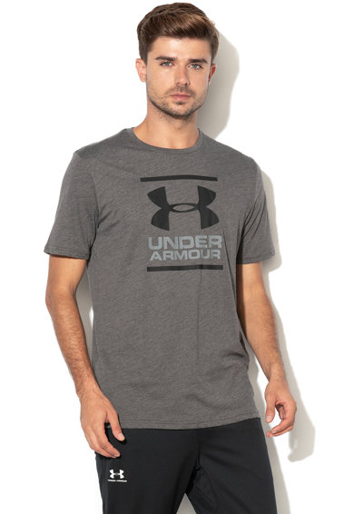 Under Armour Tricou cu imprimeu logo pentru fitness GL Foundation Barbati